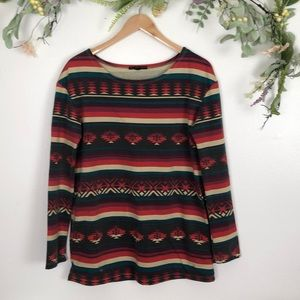 Urban Outfitters printed lightweight sweater sz MD